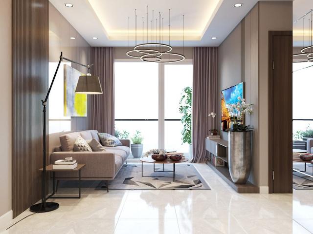 Thiết kế căn hộ Topaz Elite quận 8