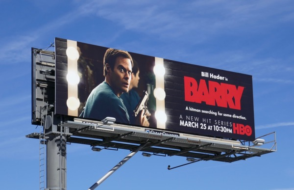 Barry series launch billboard