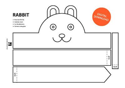 descarga gratis corona máscara de conejo