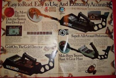détecteurs métaux vintage, vintage métal detector, détecteurs de métaux anciens, old métal detector