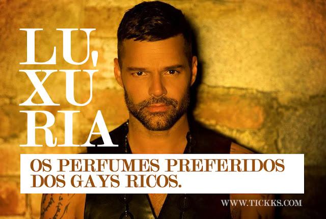 Os perfumes preferidos dos gays ricos