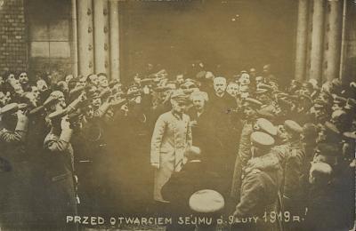józef piłsudski 9.02.1919