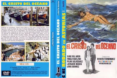 Carátula dvd: El Cristo del odcéano (1971) - Cine clásico español - dcc