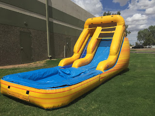 wet slide rentals