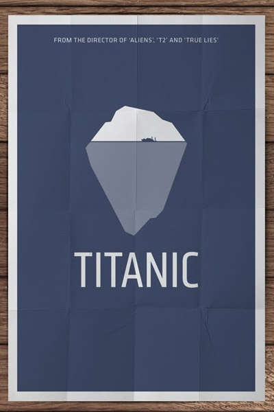 Design Morsels: Minimalist Movie Posters