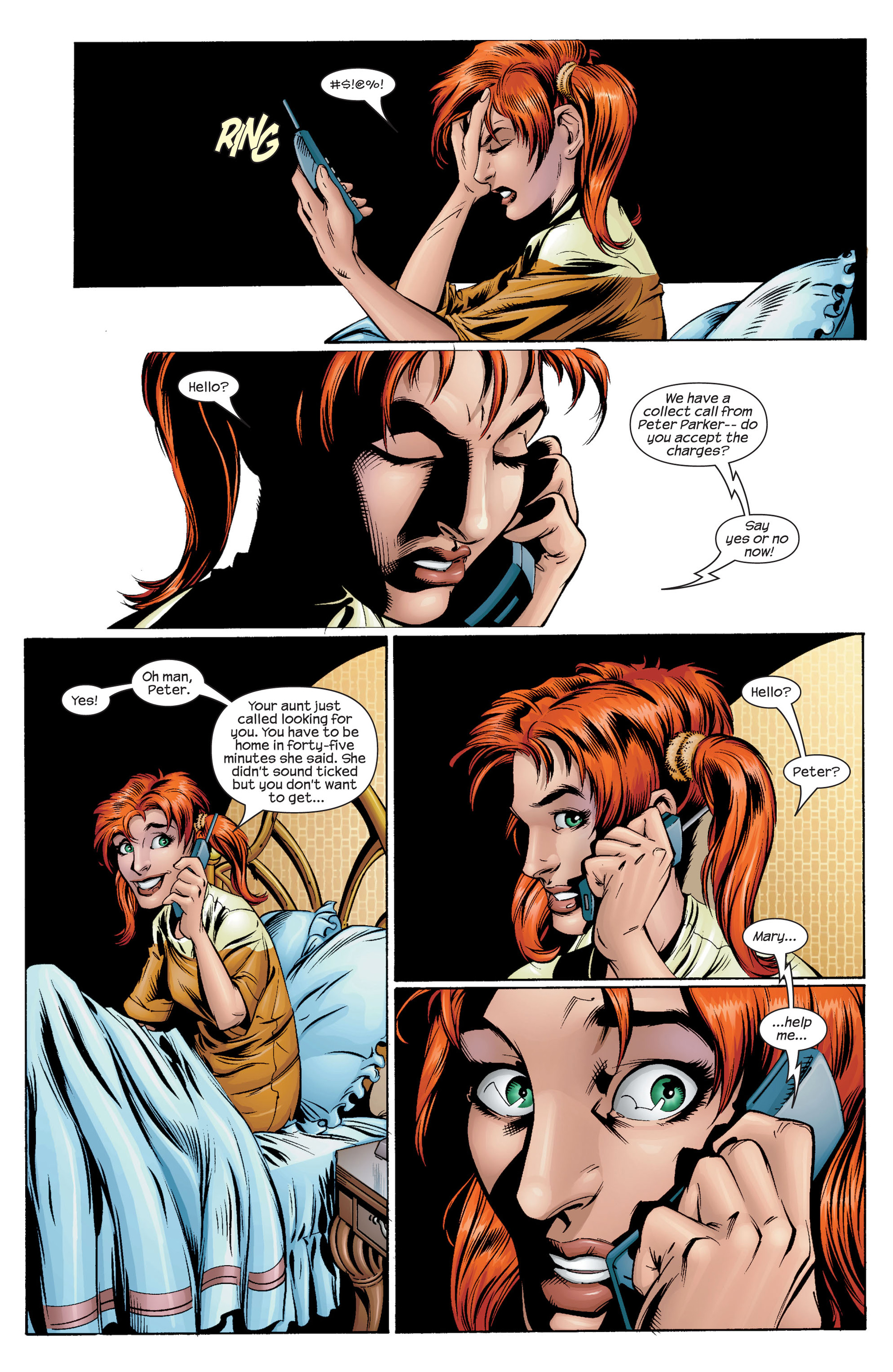 Read online Ultimate Spider-Man (2000) comic -  Issue #30 - 10