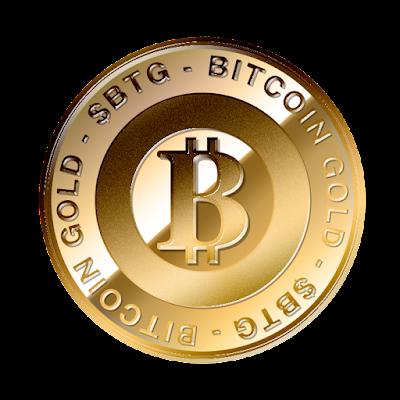 ビットコインゴールド(Bitcoin Gold)のフリー素材(金貨ver)