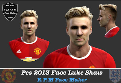 Pes 2013 Face Luke Shaw By R.P.M