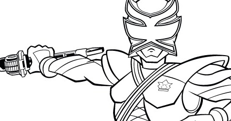 Erika Fong: Drawing COLORING Pink-Ranger