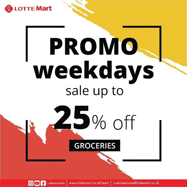 #LotteMart - #Promo #Katalog Weekdays Periode 19 - 30 April 2019