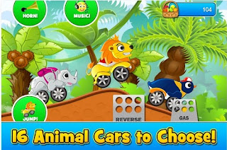 Android Game Animal Cars Kids Racing Download
