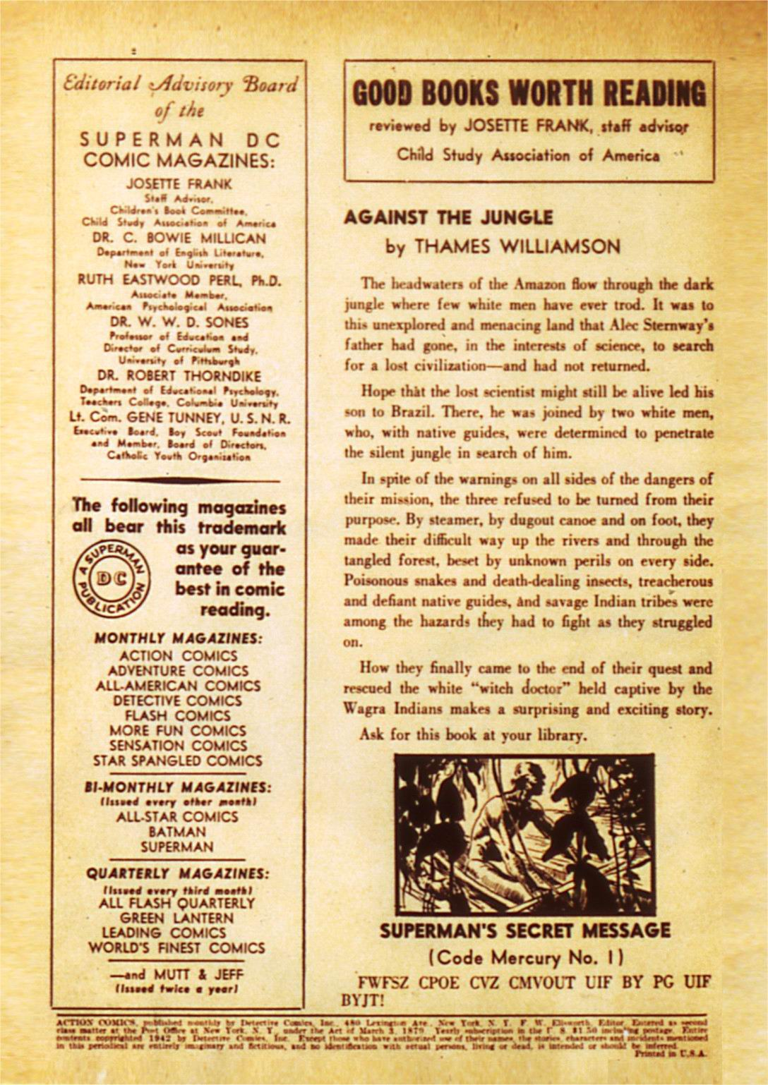Action Comics (1938) 50 Page 2