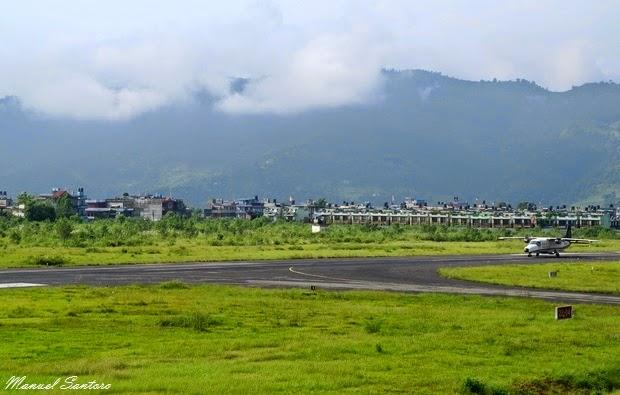 Pokhara, aeroporto