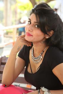 Telugu Actress Harini Stills at Dhyavudaa Movie Teaser Launch  0356.JPG
