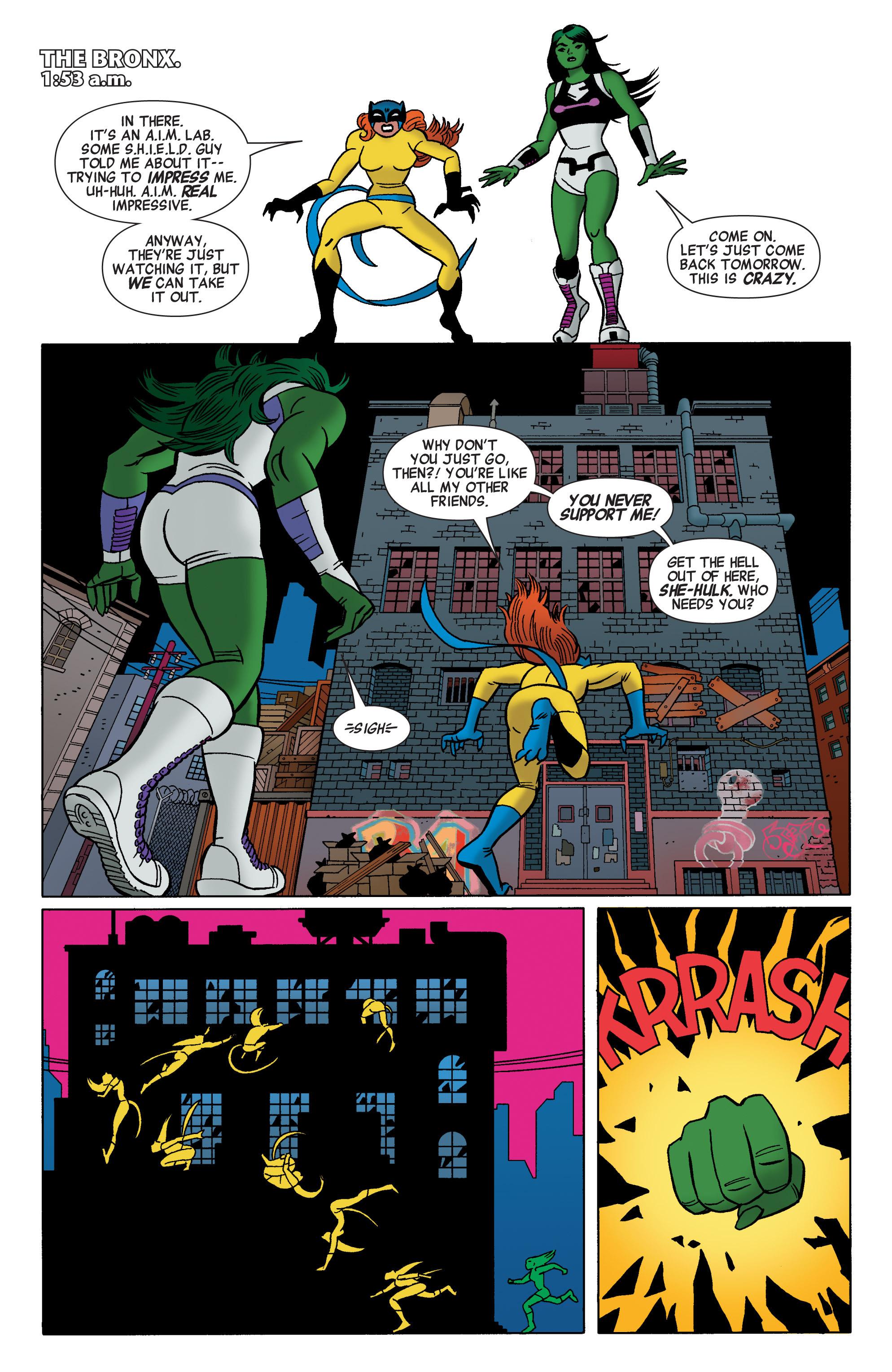 Read online She-Hulk (2014) comic -  Issue #2 - 12
