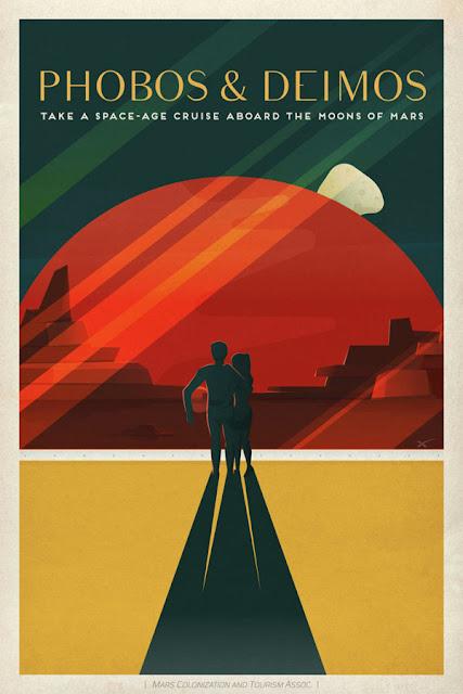 poster 3 - viagem para Marte - SpaceX