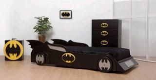 cama infantil batman