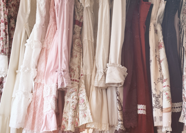 Classic sweet lolita wardrobe