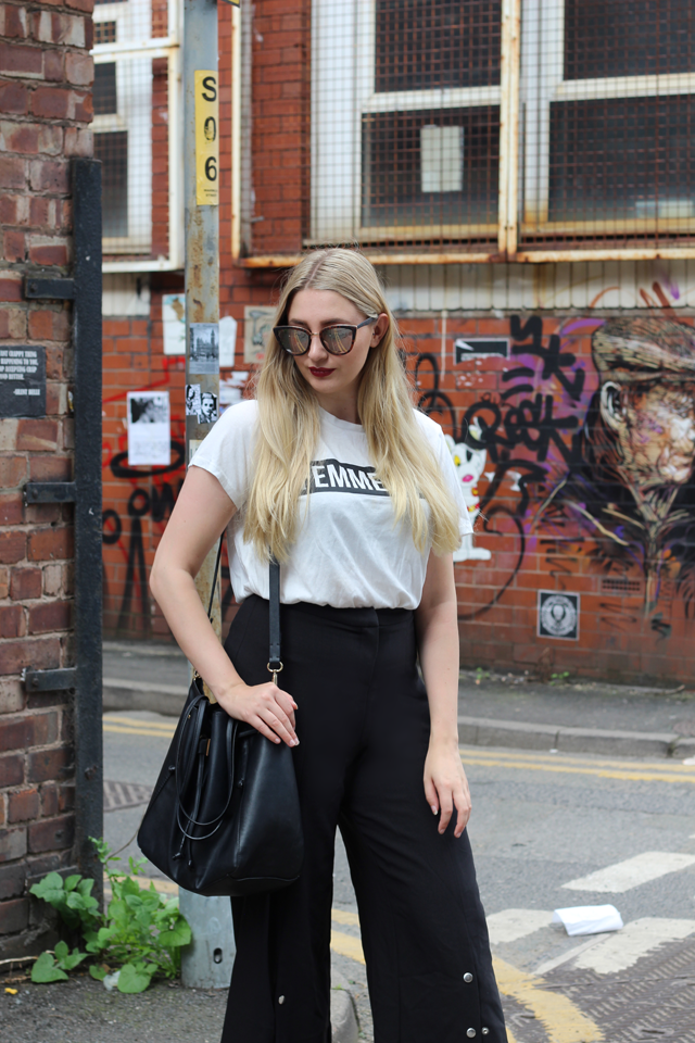 how to wear popper trousers fashion blog