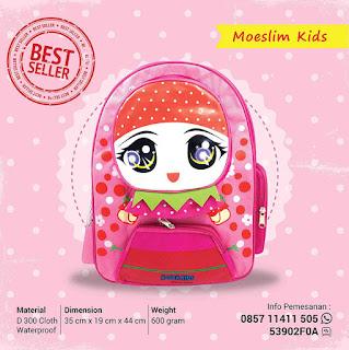 Model tas anak islami terbaru 2017