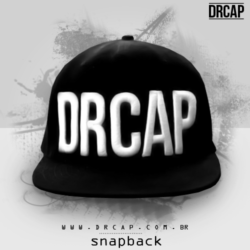 Este modelo de Boné Snapback DRCAP Premium feito em tecido 100% algodão 3b37ff80153