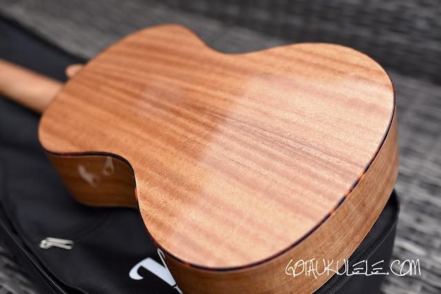 VTAB FL-T15 Tenor ukulele back