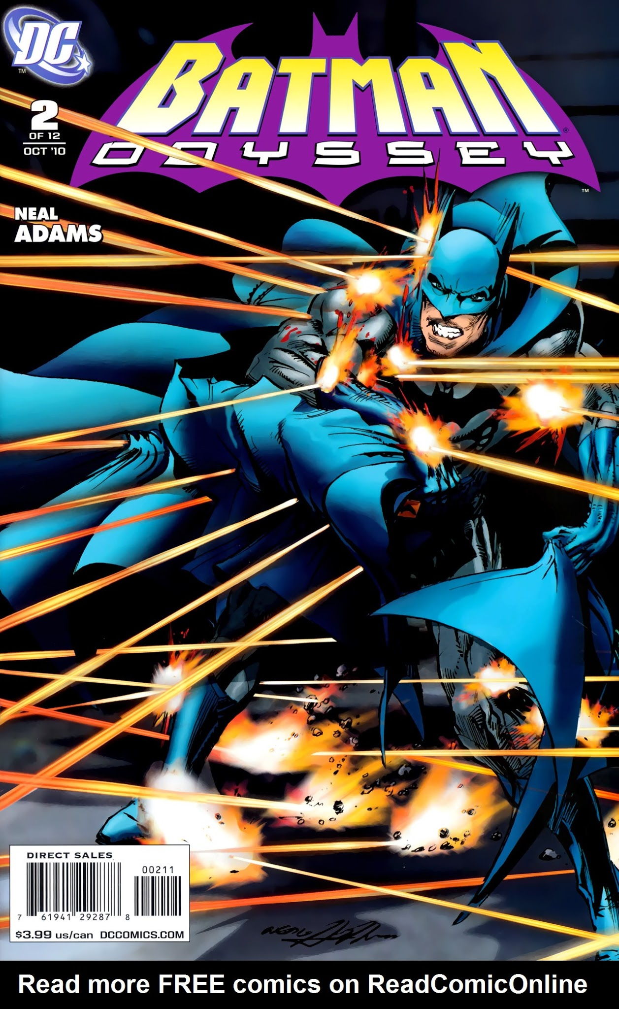Batman: Odyssey (2010) 2 Page 1