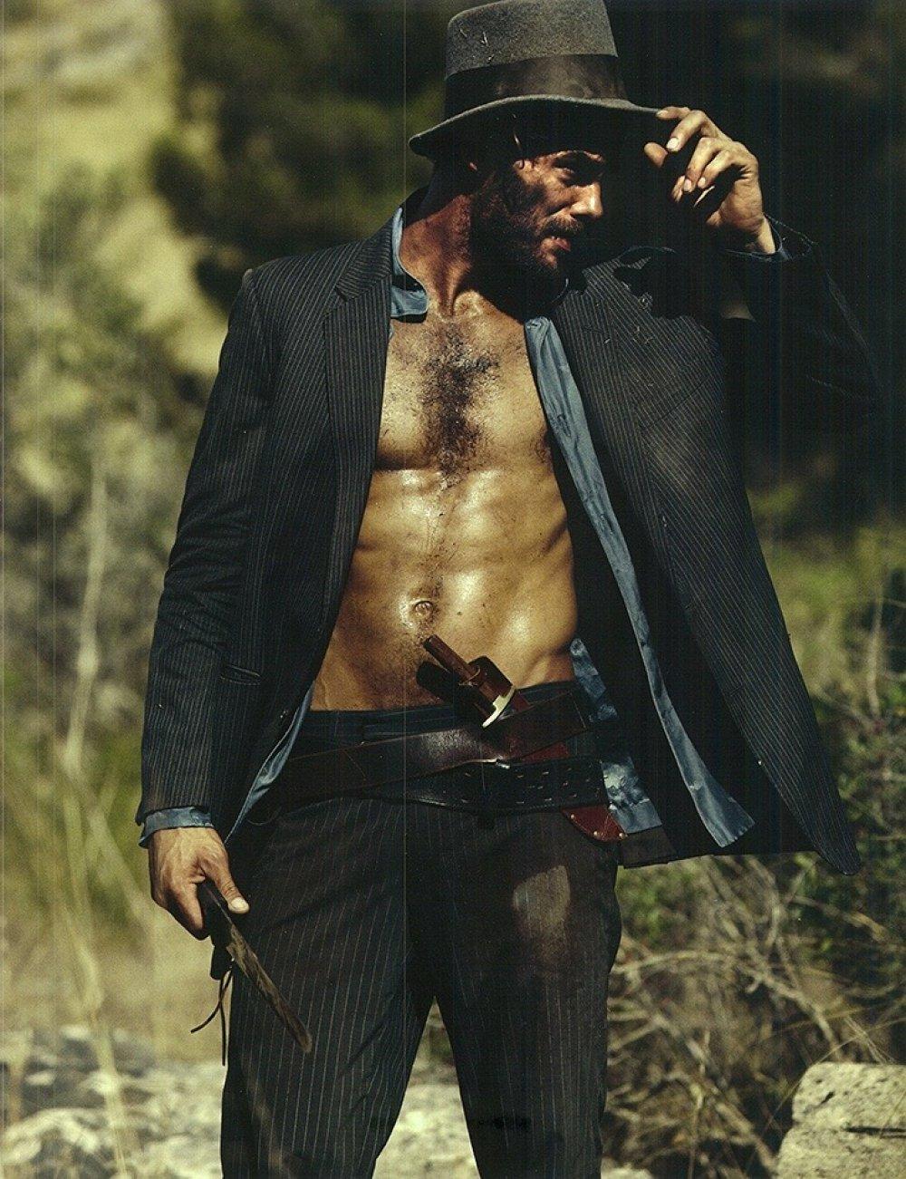 My naked cowboy