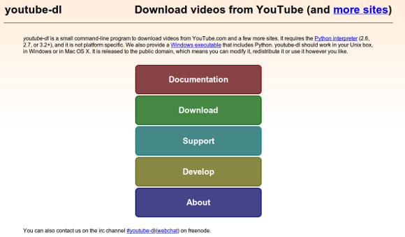 Comando para descargar vídeos de Youtube en Ubuntu Linux
