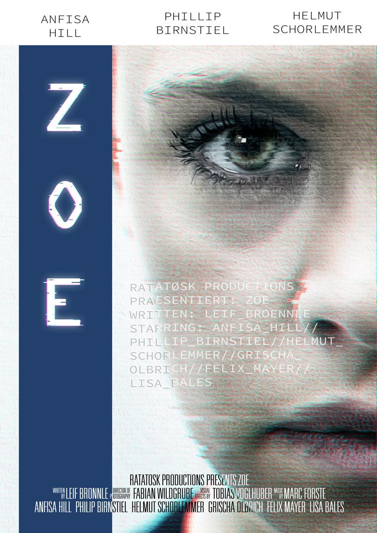 ZOE, der Science-fiction-Kurzfilm, geschrieben von Leif Brönnle umgesetzt von Ratatøsk Productions.