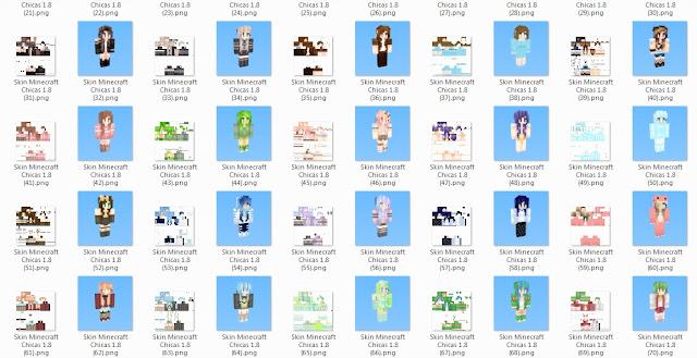 Minecraft Spielen Deutsch Skins Para Minecraft Chicas Bild - Nombres de skins para minecraft 1 8 premium