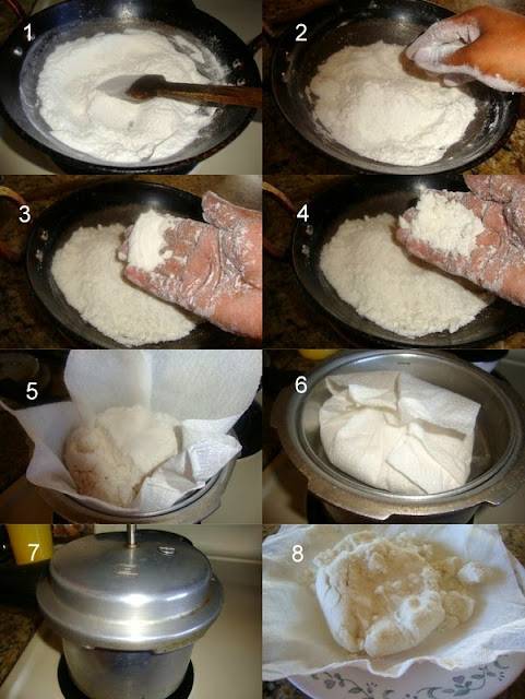 images for Arisi Puttu Recipe / Vella Puttu Recipe / Arisi Vella Puttu Recipe / Sweet Rice Jaggery Puttu - Navarathri Recipe