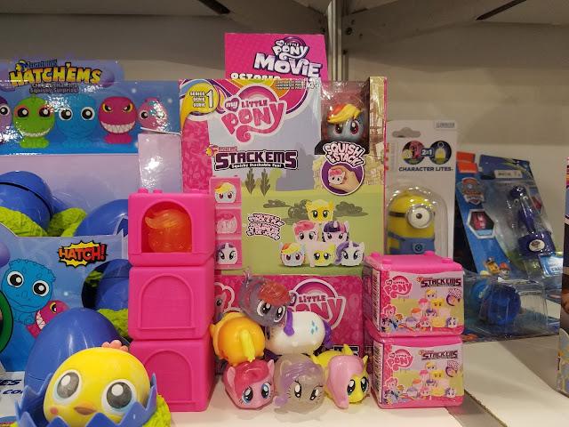 Hasbro New York Toy Fair 2017 Stack Em's My Little Pony