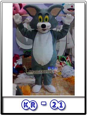 foto kostum karakter tom badut