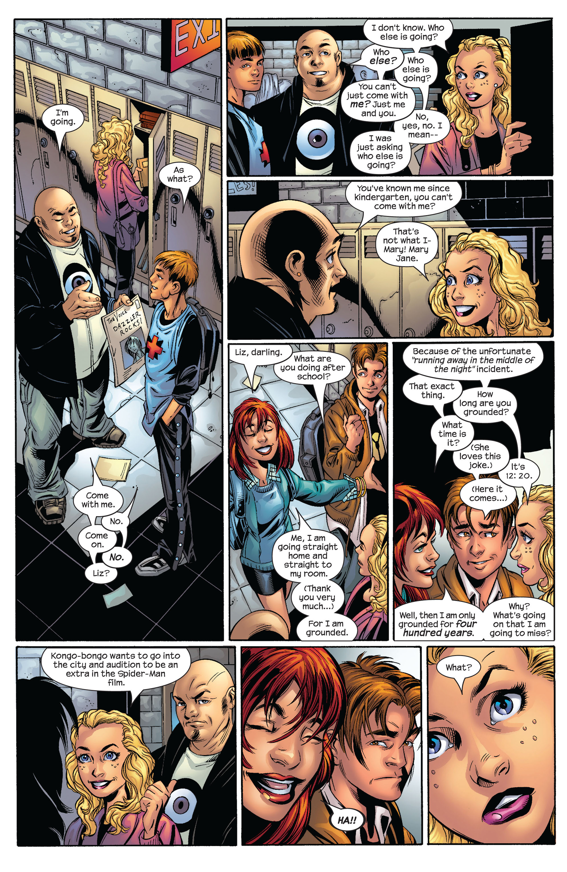Read online Ultimate Spider-Man (2000) comic -  Issue #54 - 11