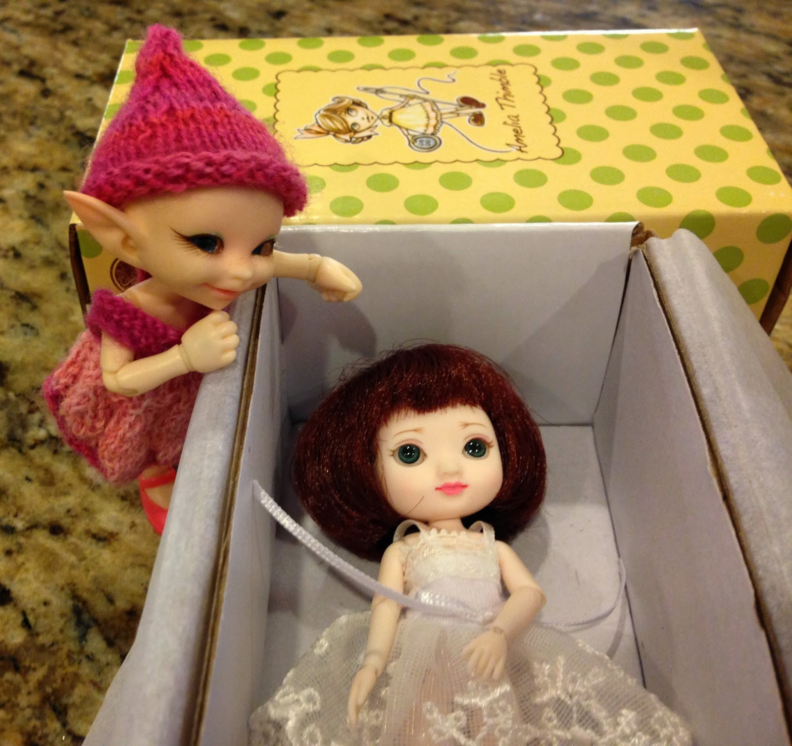 Once Upon A Doll Collection : Meet Amelia Thimble from ...