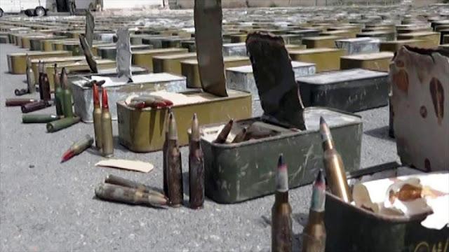 Agentes sirios confiscan material israelí destinado a terroristas
