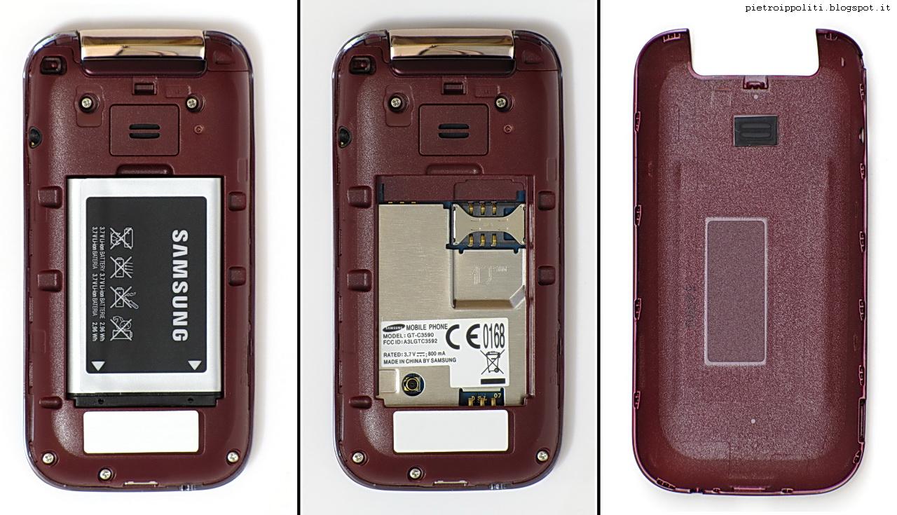 Samsung C3590, interni