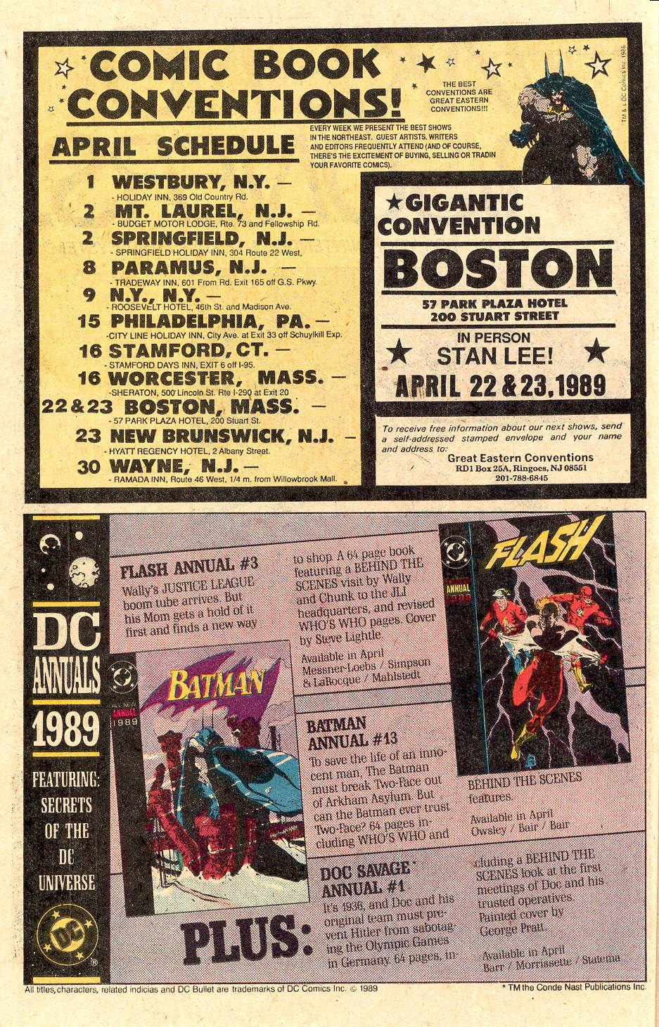 Read online Secret Origins (1986) comic -  Issue #40 - 11