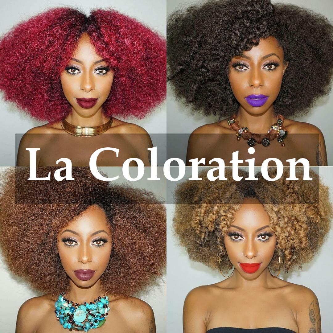 Coloration pour cheveux en spray