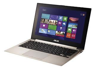 harga ultrabook Asus Zenbook U500VZ, berita ultrabook terbaru, spesifikasi lengkap detail laptop super tipis Asus Zenbook U500VZ