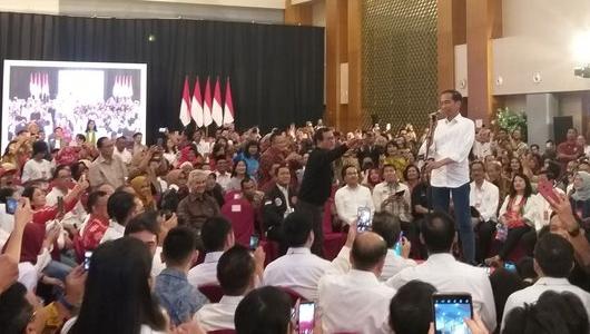 Sindir Lawan Politik, Jokowi Bilang 'Punah Sendiri Saja, Jangan Ajak Indonesia'