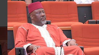 News: Dino Melaye's recall - INEC officials arrive National Assembly with petitions to notify senator