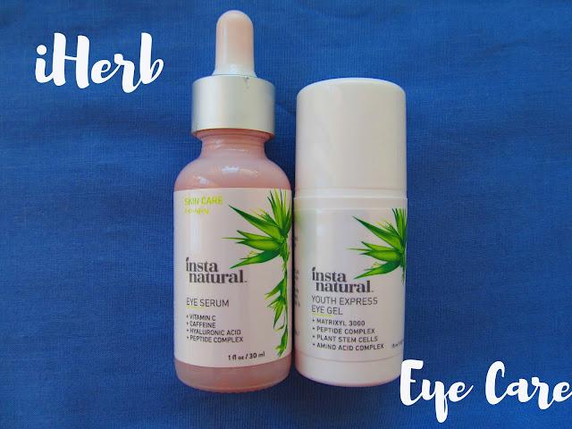 Огляд засобів для шкіри навколо очей від бренду InstaNatural Eye Serum та Eye Gel Cream
