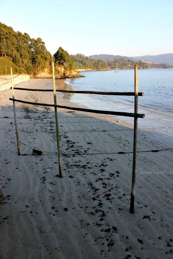 foto de la playa de redes