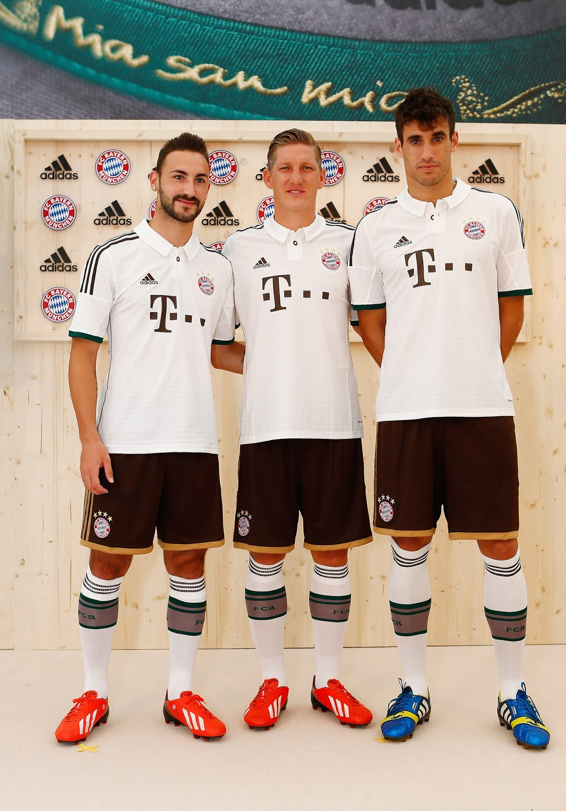 The new kit presented in Munich today by the club s supplier adidas and the  record-holding champions is based on the motto
