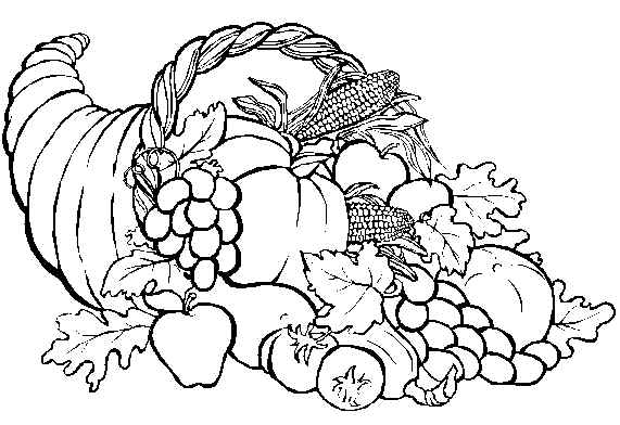 thanksgiving art coloring pages | The Conscientious Reader: Happy Thanksgiving!!!