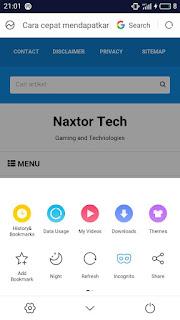 Cara mengatasi gambar tidak muncul di uc browser android & ios