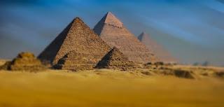 المصريين القدماء،موقع أهرامات الجيزة