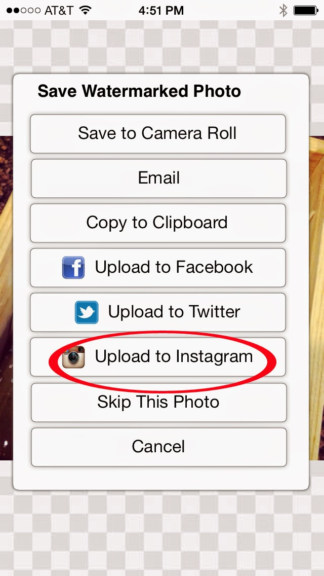 How to watermark photos for Instagram and other social media from your phone. #blogtips #watermark #iphoneapps #androidapps #photography